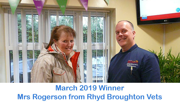 Mrs Rogerson - Rhyd Broughton