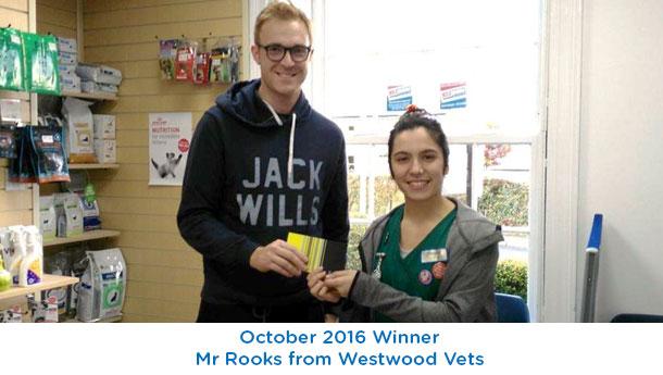 Westwood Vets Winner