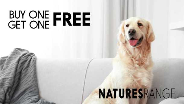 Buy One Get One Free on Natures Range